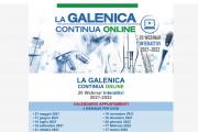 27 maggio, nuovo appuntamento con LA GALENICA CONTINUA ONLINE