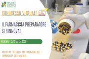 Comunicazioni Scientifiche Orali - VII Congresso Nazionale IL FARMACISTA PREPARATORE SI RINNOVA!